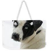 Snow Puppy Weekender Tote Bag