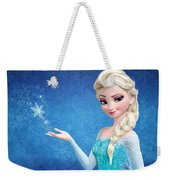 Snow Queen Elsa Frozen Weekender Tote Bag