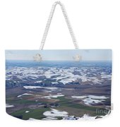 Snow Remnants On The Palouse Weekender Tote Bag