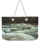 Snow Rock Weekender Tote Bag