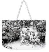 Snow Scene 1 Weekender Tote Bag by Patrick J Murphy