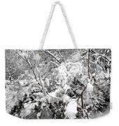 Snow Scene 4 Weekender Tote Bag