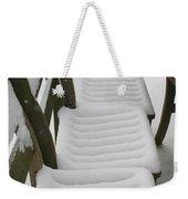Snow Seat Weekender Tote Bag