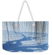Snow Shadows I Weekender Tote Bag