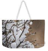 Snow Shower Weekender Tote Bag