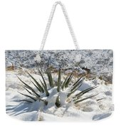 Snow Spines Weekender Tote Bag