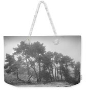 Snow Storm At The Mountains Weekender Tote Bag