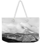 Snow Storm On The Twin Peaks Longs And Meeker Weekender Tote Bag