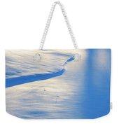 Snow Sunlight And Shadows Weekender Tote Bag