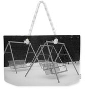 Snow Swings Weekender Tote Bag