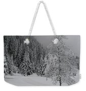Snow Tree Weekender Tote Bag
