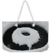 Snow Vent Abstract Weekender Tote Bag
