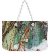 Snow Vines Weekender Tote Bag