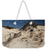 Snow White Dunes Weekender Tote Bag