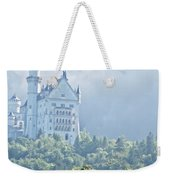 Snow White's Palace In Morning Mist Weekender Tote Bag