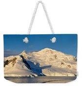 Snowcapped Mountain, Andvord Bay Weekender Tote Bag