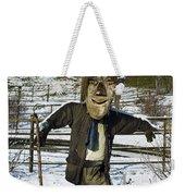 Snowcapped Scarecrow Weekender Tote Bag