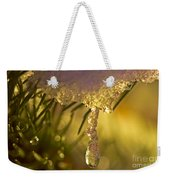 Snowdrop Crystal Weekender Tote Bag by Sharon Talson