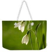 Snowdrop Weekender Tote Bag