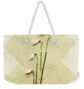 Snowdrops Weekender Tote Bag
