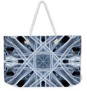Snowflake Weekender Tote Bag