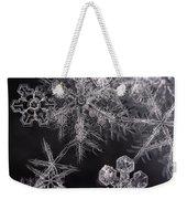 Snowflakes Weekender Tote Bag
