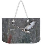 Snowing Flight Weekender Tote Bag