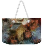 Snowman Photo Art 47 Weekender Tote Bag