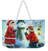 Snowman Song Weekender Tote Bag