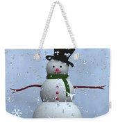 Snowman... Weekender Tote Bag