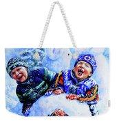 Snowmen Weekender Tote Bag