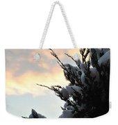 Snowvember Sunrise Weekender Tote Bag