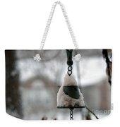 Snowy Bell Weekender Tote Bag