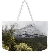Snowy Desert Mountain 1 Weekender Tote Bag
