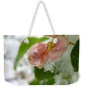 Snowy Drop Weekender Tote Bag