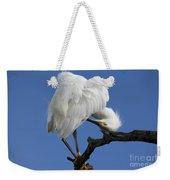 Snowy Egret Photograph Weekender Tote Bag