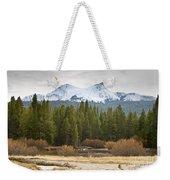 Snowy Fall In Yosemite Weekender Tote Bag