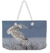 Snowy In Action Weekender Tote Bag