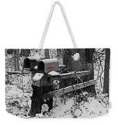 Snowy Mailbox Sc Weekender Tote Bag