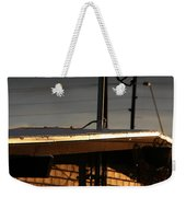 Snowy Morning Weekender Tote Bag