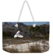 Snowy Owl In Florida 18 Weekender Tote Bag