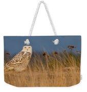 Snowy Owl Morning Weekender Tote Bag