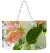 Snowy Spring 1 - Digital Painting Effect Weekender Tote Bag