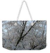 Snowcovered Trees Weekender Tote Bag