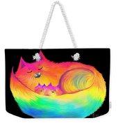 Snuggle Cats Weekender Tote Bag