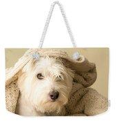 Snuggle Dog Weekender Tote Bag