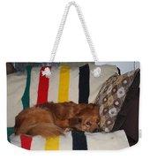 Snuggle Time Weekender Tote Bag