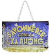 Soap Factory Sign Weekender Tote Bag