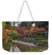 Soaring Fall Colors In The Arboretum Weekender Tote Bag