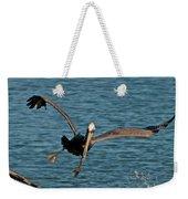 Soaring Pelican Weekender Tote Bag